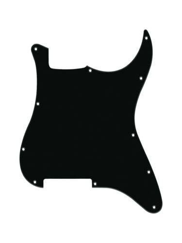 Pickguard für Rockit schwarz einlagig ohne PU Fräsung mit 11 Löchern ST 100 B