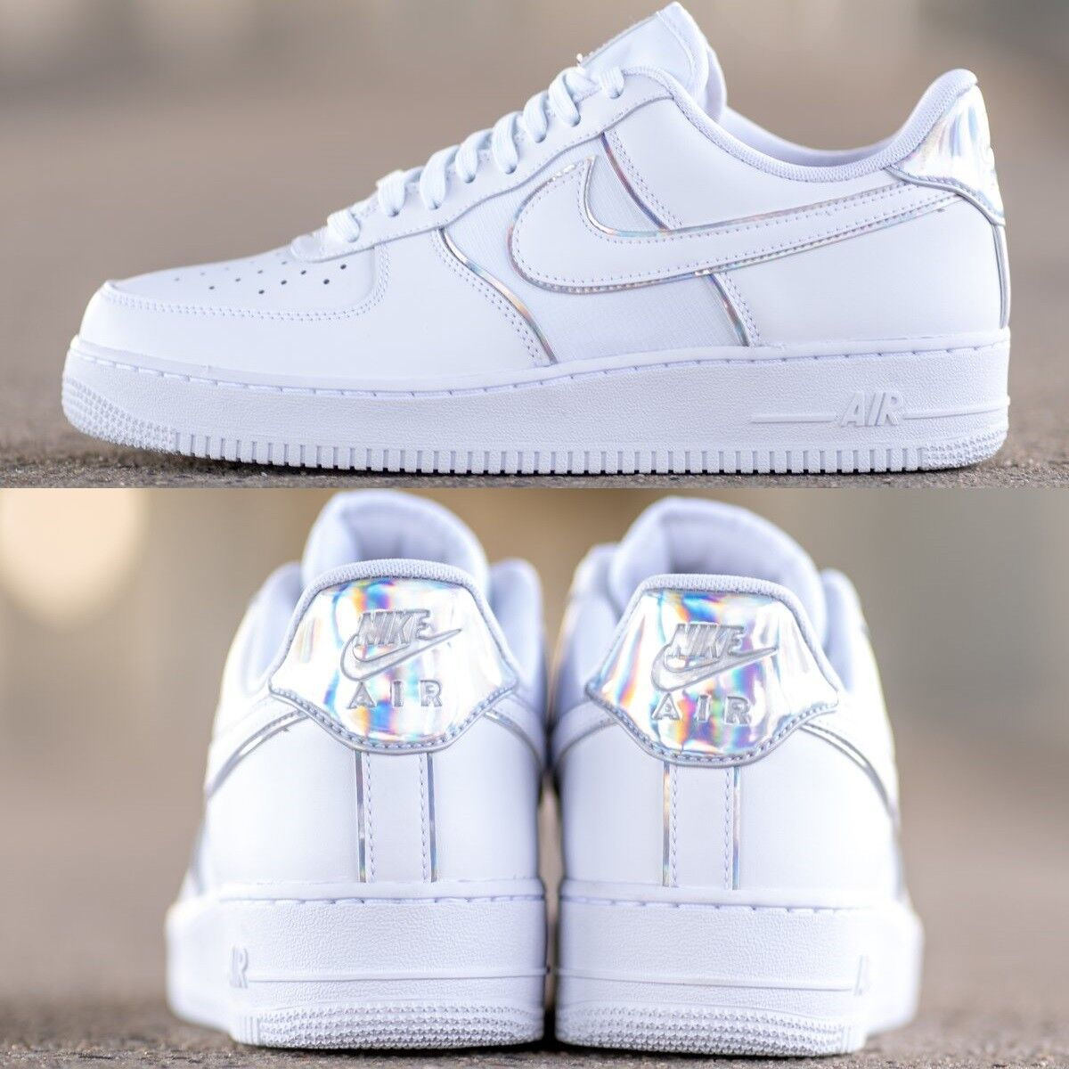huge discount ea6e3 867ce Nike Air Force Force Force 1 Lv8 4 Y2K Low Sneakers Men s Lifestyle Comfy  shoes White