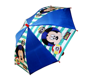 TradeMark Collections Disney Mickey Mouse Blue And Red Kids Umbrella