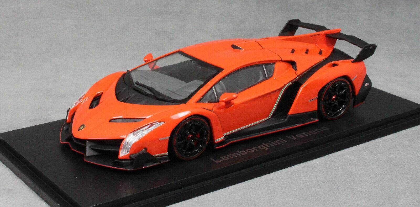 Kyosho Lamborghini Veneno in orange 2013 05571OR 1 43 43 43 NEW RRP .99 801050