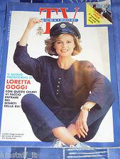 TV RADIOCORRIERE=1988/4=LORETTA GOGGI=CLAUDIO VILLA ROMANZO=ISABELLA ROSSELLINI=