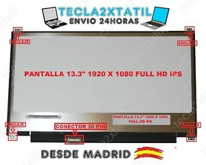 PANTALLA-PARA-PORTATIL-N133HSE-EA3-REV-C2-13-3-034-1920X1080-FHD-LED-LCD-30-pin