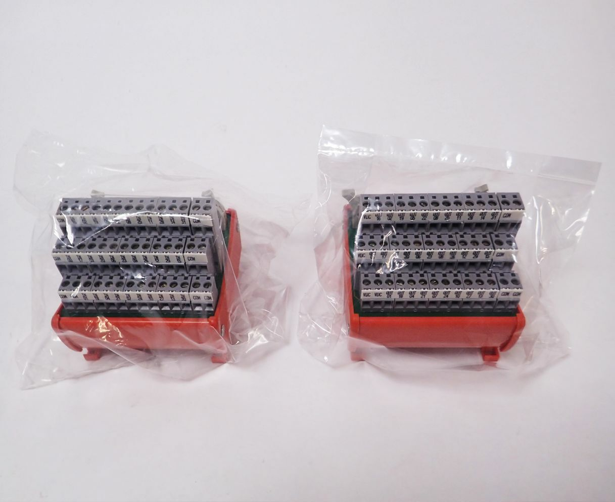 LOT OF 2 NEW ENTRELEC 20 300-14 40-POINT CABLE INTERFACE MODULES NOS