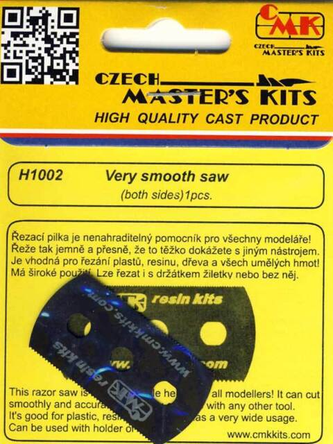 Cmk 5x Lame de Scie 70 Fin Dents F.Modellbausäge 1:3 2//35//48//72 Ultra Lisse Scie