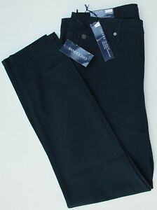 Ladies-Bandolino-Selene-Skinny-Leg-Stretch-Jeans-Blue-Black-UK-10-12-14-16-BNWT