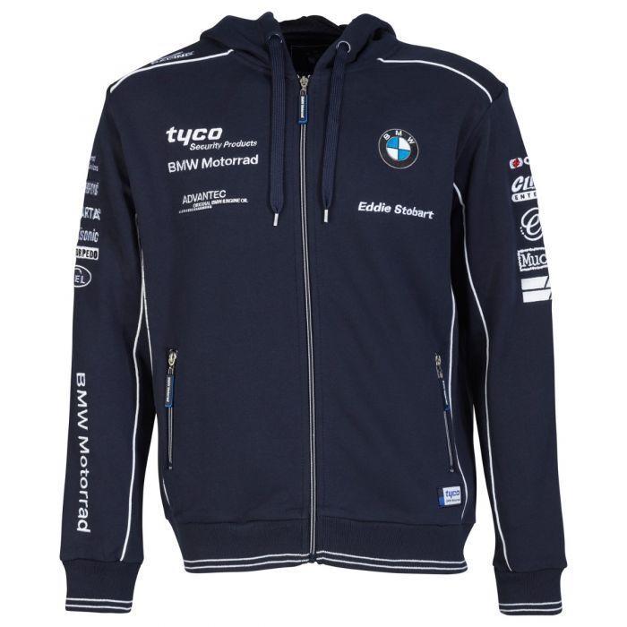 2017 Offiziell Tyco BMW Team Reißverschluss Kapuze Pullover