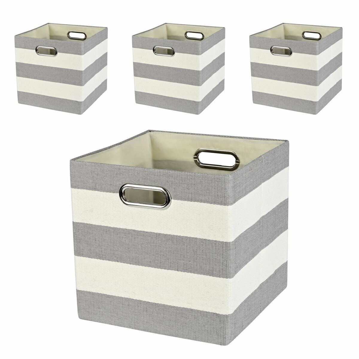 Posprica Collapsible Cube Organizers,Storage Cube Bins Boxes Basket Containers