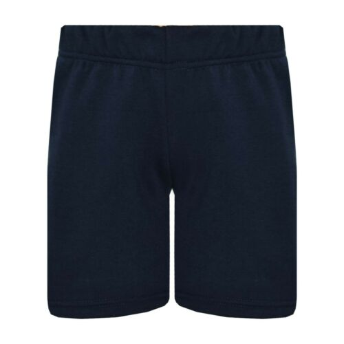 Bambine Pantaloncini Chino Navy Casual Ginocchio Lunghezza Pantaloni Corti Età
