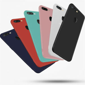 low priced 0469f d9f1b Details about Silicone Rubber Frosted TPU Cover Case For OPPO F7 F5 F1S A59  A73 A83 R15 Pro