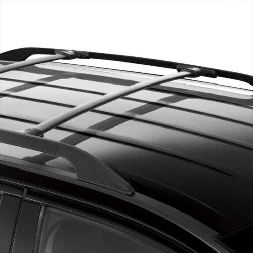 Black Aluminum OE Style Bolt-On Top Roof Rack Rail Cross Bar For 16-18 Explorer
