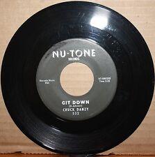 CHUCK DANZY **GIT DOWN** JAY WALK Northern Soul 45 on NU-TONE 532