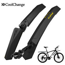 CoolChange MTB Bike Bicycle Cycling Fenders Front Rear Mudguard Set Mud Guards