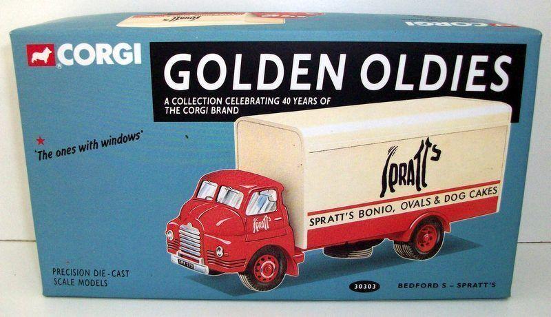 CORGI - goldEN OLDIES 30303 BEDFORD S - SPRATT'S