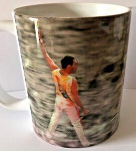 Queen rock band mug Freddie Mercury