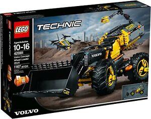 LEGO-Technic-42081-Volvo-Ruspa-Gommata-Zeux-NUOVO