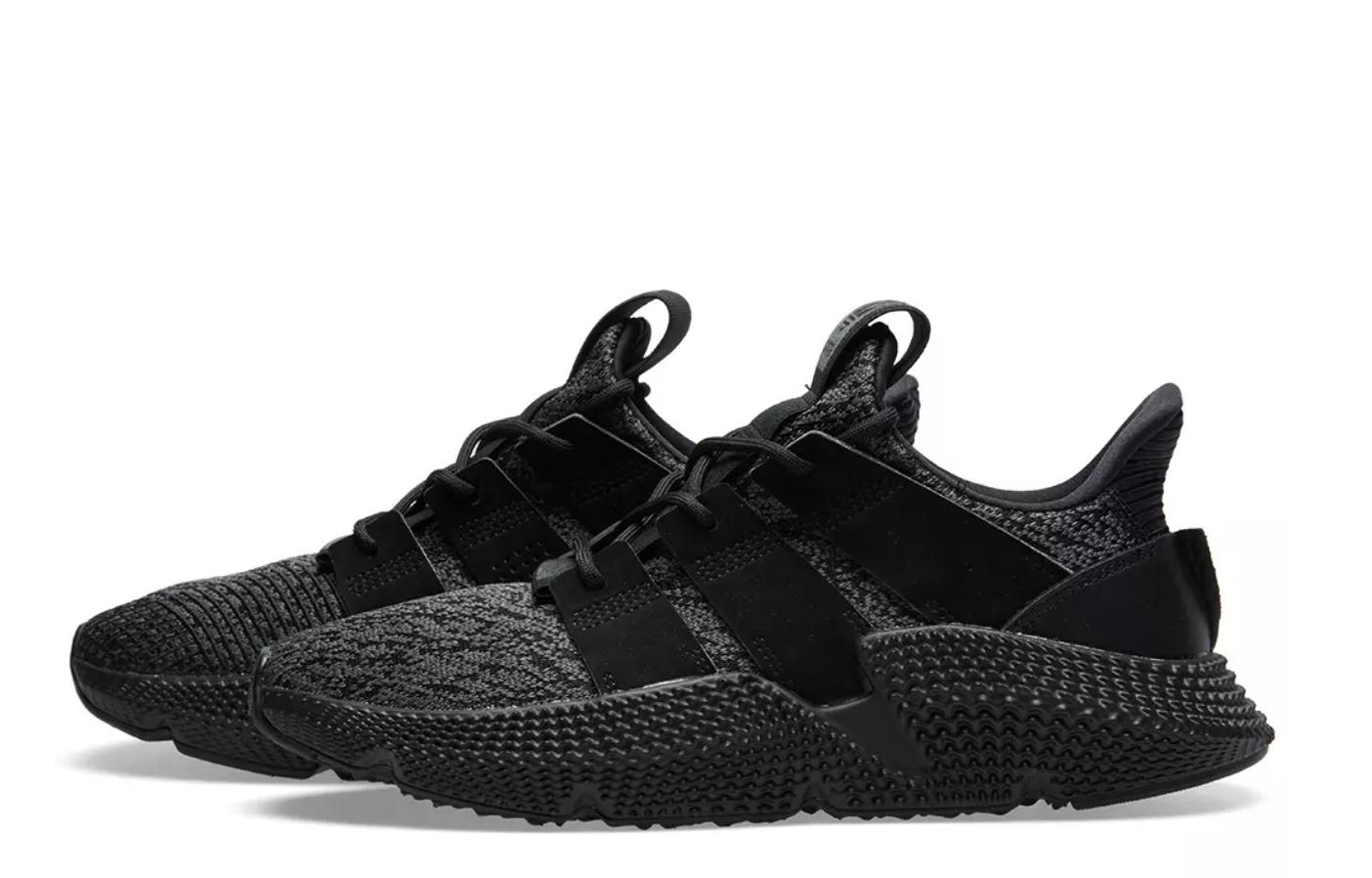 Nouveau Adidas Originals prophere homme triple noir CQ2126 c1