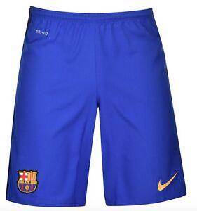 Nike-FC-Barcelona-Exterieur-Loin-Short-Bleu-2015-2016-nouveau-toutes-tailles