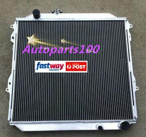 Aluminum-radiator-for-TOYOTA-Hilux-Surf-KZN185-3-0L-Diesel-1996-2002-Manual