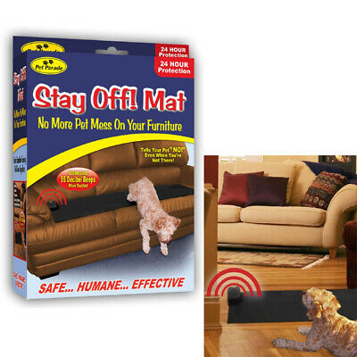 Sonic Repellent Stay Off Mat For Dogs And Cats For Bed Sofa Beds