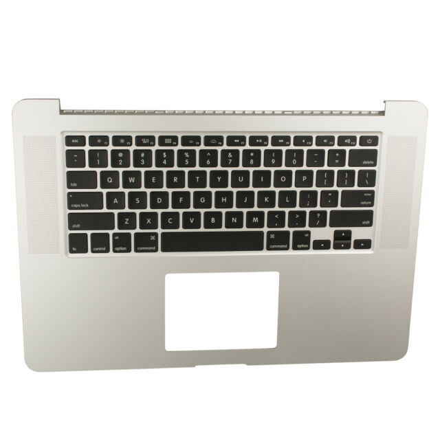 "A1398 Apple MacBook Pro 15,4/"" Retina palmrest topcase QWERTY layout"
