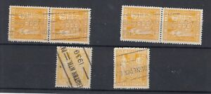 New-Zealand-1931-Arms-1-Postal-Fiscal-Collection-Of-6-SGF146-VFU-J3130