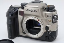 2840#GC Minolta α-9 Ti / Maxxum 9 / Dynax 9 Titan Film Camera Excellent+++