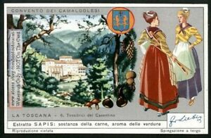 Casentino-Tuscany-Toscana-Italy-Clothing-Fashions-60-Y-O-Trade-Ad-Card