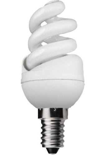 E14 2700k KCF07SP3//E14-827 Lamp Cfl 7w Ex-mini Spiral