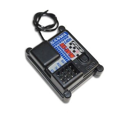 MX-6 Airtronics RX-391W RX391 391 2.4Ghz FH-E FHE 3 Channel RC Receiver RX