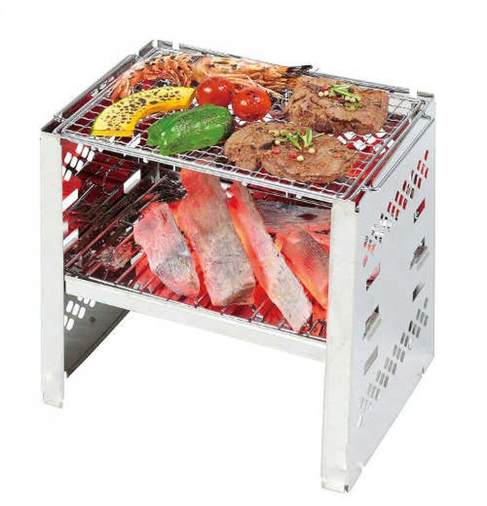 Captain Stag Ug-42 B5 Typ Typ Typ Smart Barbecue Grill BBQ aus Japan 61926f