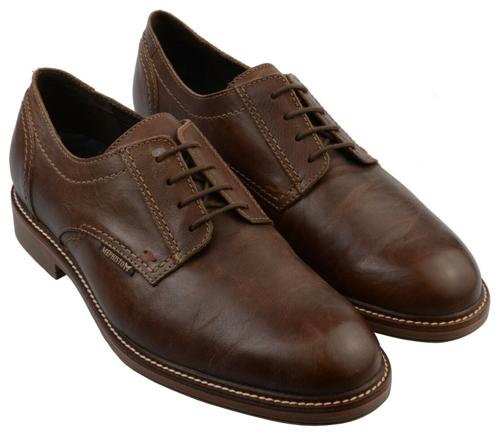 Zapato Con Cordones Formal de Gentleman Mephisto Waino Avellana UK Talla 10