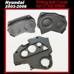 Details about New Genuine Lower Timing Belt Cover Set 21350 39800 for 03-06  Kia Sorento