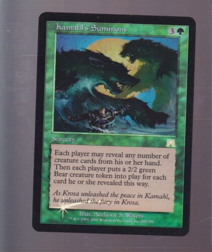 mtg Magic 1x FOIL Kamahl's Summons