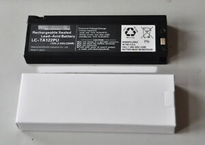 Replace 2300mAh 12V Battery for Defibrillator monitor M4735A M3516A H