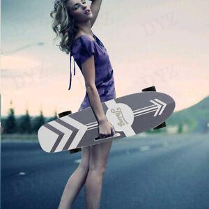 Details about  /Electric Skateboard Power Motor Cruiser Maple Deck W// Wireless Remote Longboard*