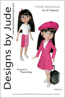 Travel Adventure Doll Clothes Sewing Pattern For 14 Patience Tonner