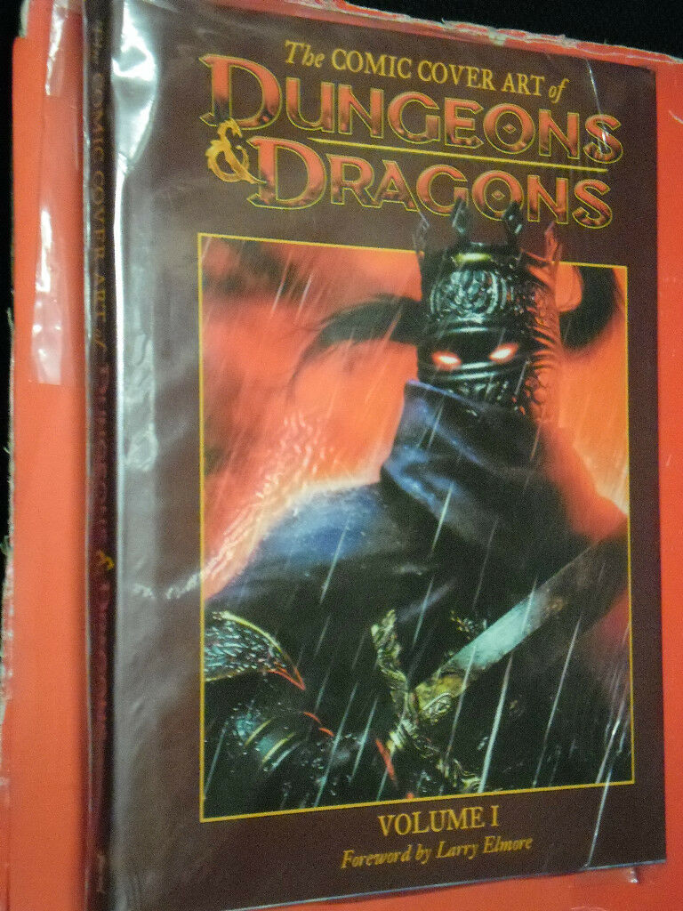 DUNGEONS & DRAGONS-GIOCO DI RUOLO-COMIC COVER ART OF-ENTRA-DISP.ALTRI