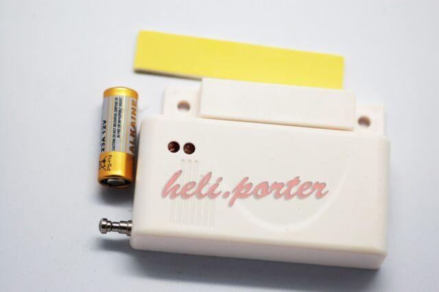 Wireless Door / Window Entry Detector / Sensor / Contact(315 / 433 Mhz)
