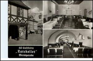 WERNIGERODE-HO-Gaststaette-Ratskeller-DDR-AK-E-Riehn