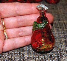 Magnfique 10 pampilles ancienne cristal murano pour restauration lustres lampes
