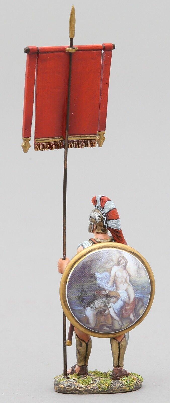 THOMAS GUNN ANCIENT GREEKS & PERSIANS SPA020D HOPLITE WITH RED BANNER DIANA MIB