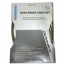 NEW Shimano DURA ACE SLR Brake Cable Set Inner//Outer Cables 800//1400mm Gray