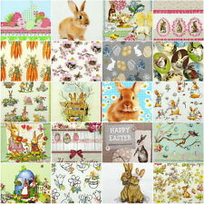 20x Different Table Party Paper Napkins for Decoupage Decopatch Craft Easter Mix