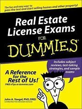 Real Estate License Exams for Dummies® by John A. Yoegel (2005, Paperback)