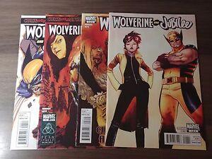 Wolverine-and-Jubilee-2011-1-4-1-2-3-4-Set-Kathryn-Immonen-Phil-Noto