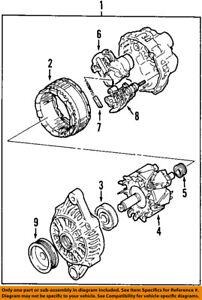 SUZUKI OEM 07-09 SX4-Alternator 3140080JV1 | eBay