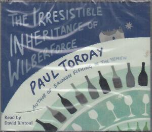 Paul-Torday-Irresistible-Inheritance-Of-Wilberforce-5CD-Audio-Book-NEW-FASTPOST