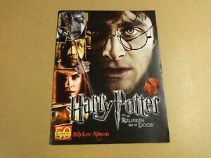 STICKER-ALBUM-PANINI-INCL-ALLE-STICKERS-HARRY-POTTER-EN-DE-RELIEKEN-VAN-DE-DOOD