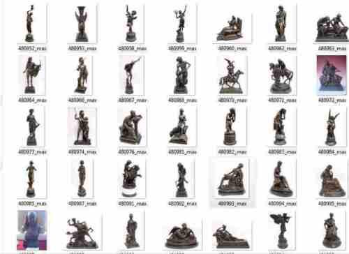 Bronze Skulptur Kunst auf Marmor nacktes Männermodell Geschenk für Sie und Ihn l