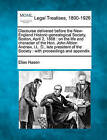 Discourse Delivered Before the New-England Historic-Genealogical Society, Boston, April 2, 1868: On the Life and Character of the Hon. John Albion Andrew, LL. D., Late President of the Society: With Proceedings and Appendix. by Elias Nason (Paperback / softback, 2010)